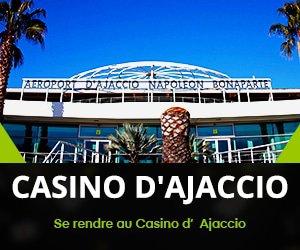 Comment vous rendre à Casino D'Ajaccio